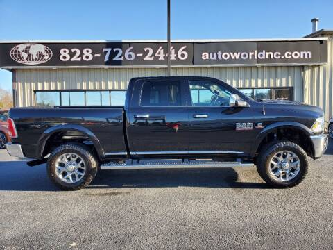 2017 RAM Ram Pickup 2500 for sale at AutoWorld of Lenoir in Lenoir NC