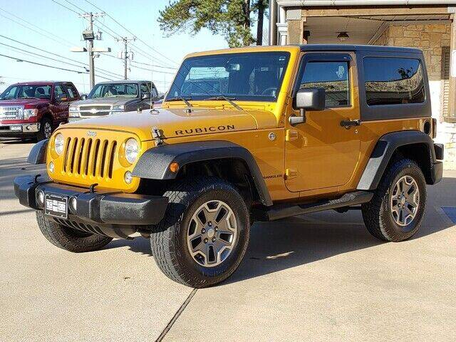 2014 Jeep Wrangler for sale at Tyler Car  & Truck Center in Tyler TX