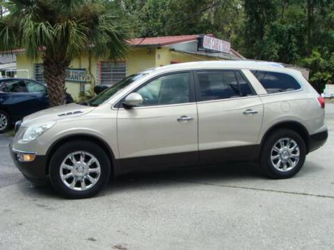 2012 Buick Enclave for sale at VANS CARS AND TRUCKS in Brooksville FL