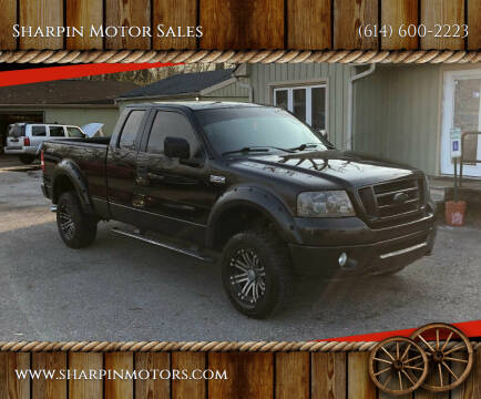 2006 Ford F-150 for sale at Sharpin Motor Sales in Columbus OH