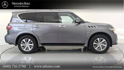 2016 Infiniti QX80 for sale at Mercedes-Benz of North Olmsted in North Olmsted OH