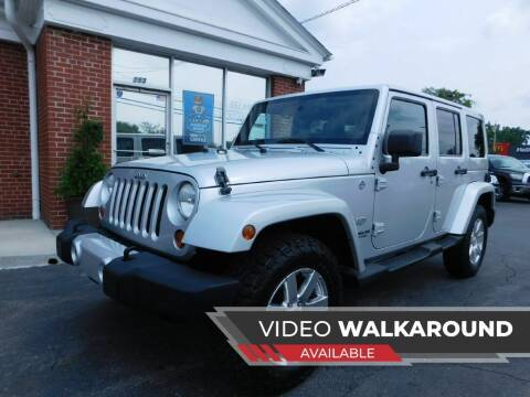 2011 Jeep Wrangler Unlimited for sale at Delaware Auto Sales in Delaware OH