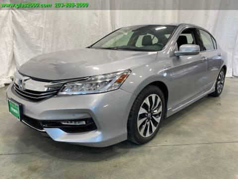 2017 Honda Accord Hybrid for sale at Green Light Auto Sales LLC in Bethany CT