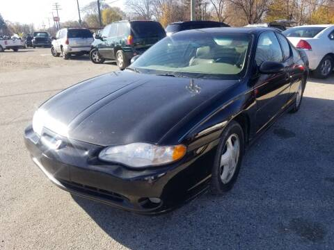 2001 Chevrolet Monte Carlo for sale at D & D All American Auto Sales in Mt Clemens MI