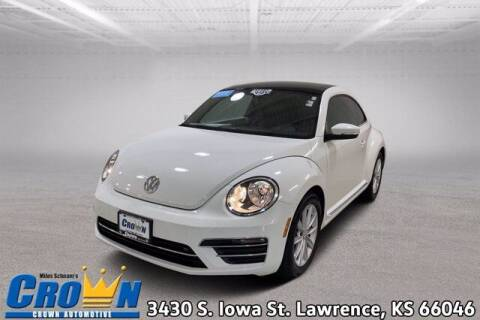 2019 Volkswagen Beetle for sale at Crown Automotive of Lawrence Kansas in Lawrence KS