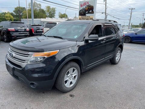 2013 Ford Explorer for sale at Kellis Auto Sales in Columbus OH