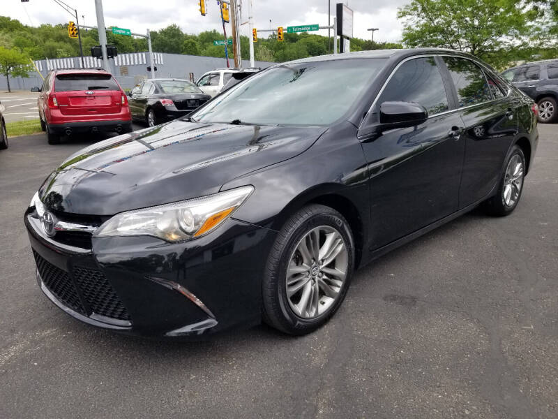2015 Toyota Camry for sale at Cedar Auto Group LLC in Akron OH