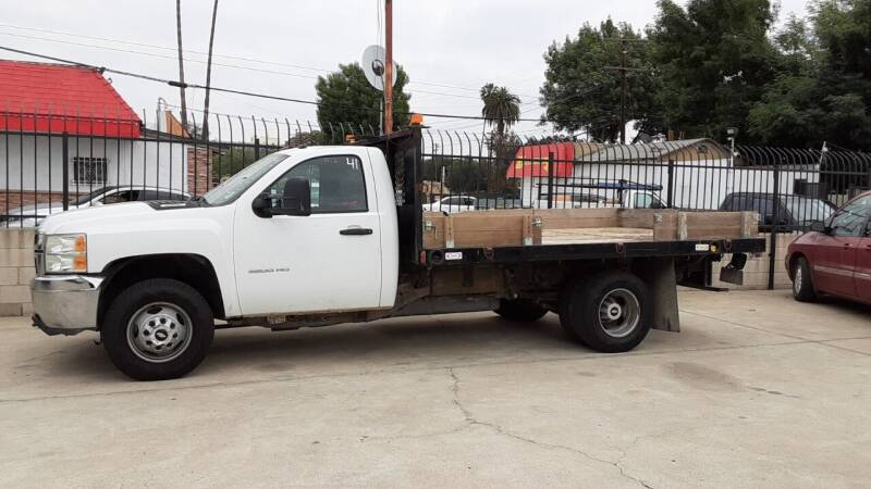 2013 Chevrolet Silverado 3500 for sale at DOYONDA AUTO SALES in Pomona CA