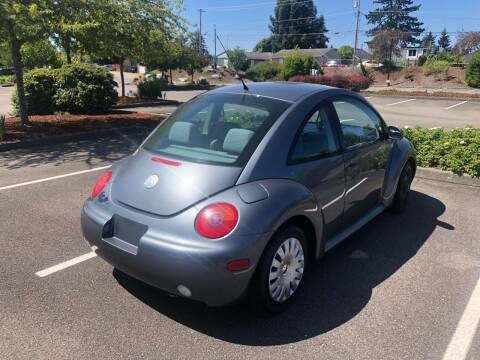 2003 Volkswagen New Beetle for sale at Washington Auto Sales in Tacoma WA