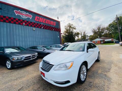2012 Chrysler 200 for sale at Chema's Autos & Tires in Tyler TX
