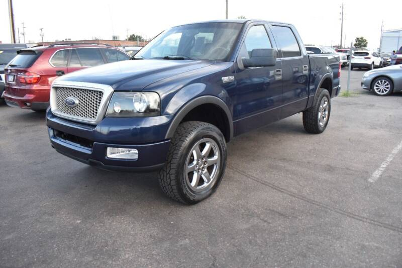 2004 Ford F-150 for sale at Good Deal Auto Sales LLC in Denver CO
