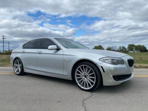 2011 BMW 5 Series for sale at ILUVCHEAPCARS.COM in Tulsa OK