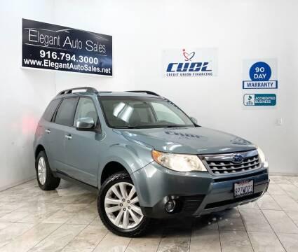 2011 Subaru Forester for sale at Elegant Auto Sales in Rancho Cordova CA