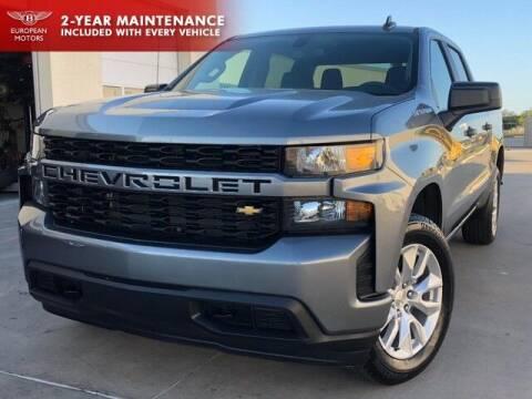 2019 Chevrolet Silverado 1500 for sale at European Motors Inc in Plano TX