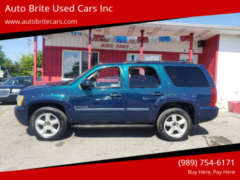2007 Chevrolet Tahoe for sale at Auto Brite Used Cars Inc in Saginaw MI