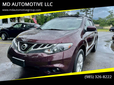 2014 Nissan Murano for sale at MD AUTOMOTIVE LLC in Slidell LA