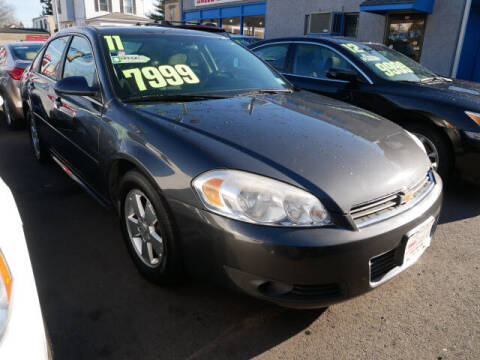 2011 Chevrolet Impala for sale at M & R Auto Sales INC. in North Plainfield NJ