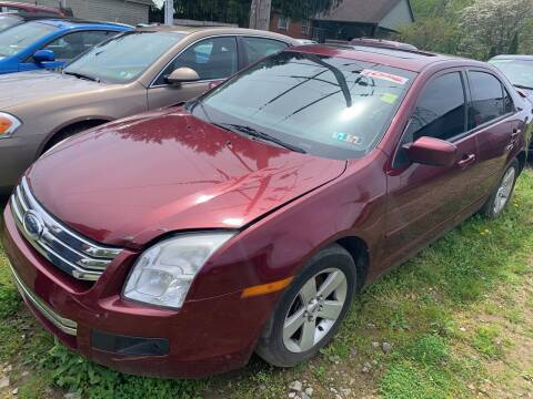 2006 Ford Fusion for sale at Trocci's Auto Sales in West Pittsburg PA
