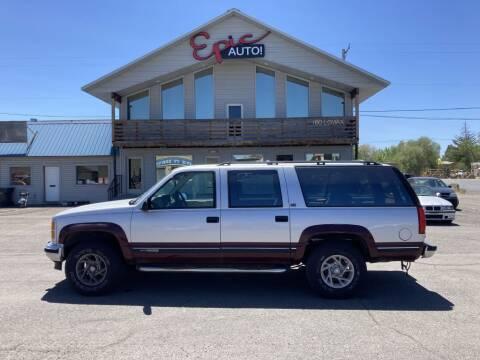 1994 GMC Suburban for sale at Epic Auto in Idaho Falls ID