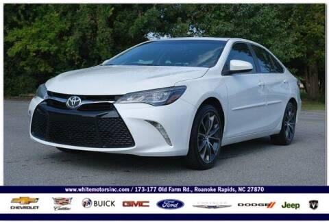 2015 Toyota Camry for sale at WHITE MOTORS INC in Roanoke Rapids NC