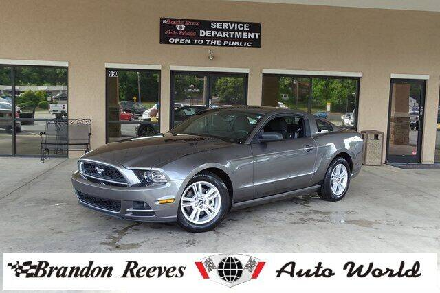 2014 Ford Mustang for sale at Brandon Reeves Auto World in Monroe NC