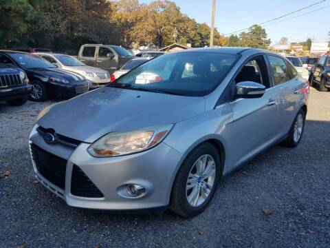 2012 Ford Focus for sale at ATLANTA AUTO WAY in Duluth GA