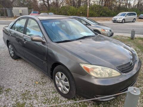 2002 Toyota Camry for sale at AUTO PROS SALES AND SERVICE in Belleville IL