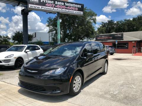 2018 Chrysler Pacifica for sale at Prime Auto Solutions in Orlando FL