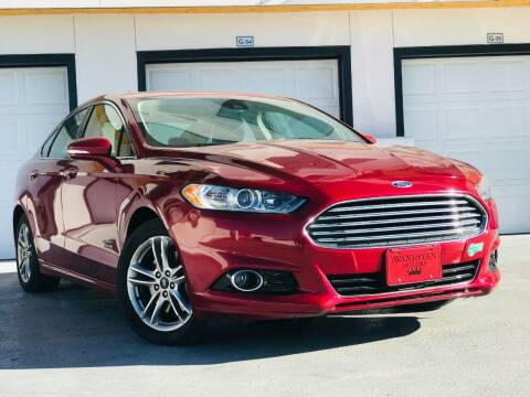 2015 Ford Fusion Energi for sale at Avanesyan Motors in Orem UT