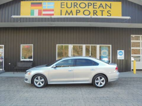 2013 Volkswagen Passat for sale at EUROPEAN IMPORTS in Lock Haven PA