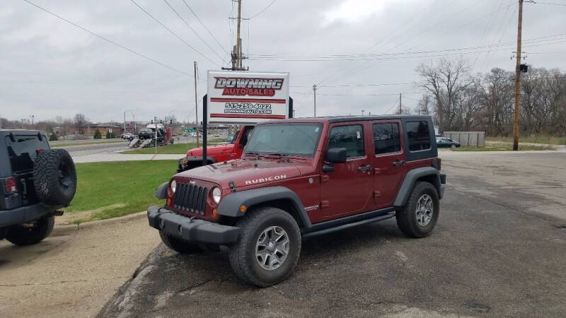 2010 Jeep Wrangler Unlimited for sale at Downing Auto Sales in Des Moines IA