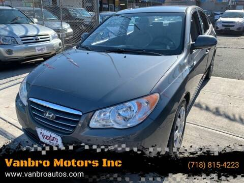 2008 Hyundai Elantra for sale at Vanbro Motors Inc in Staten Island NY