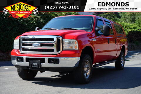 2006 Ford F-250 Super Duty for sale at West Coast Auto Works in Edmonds WA