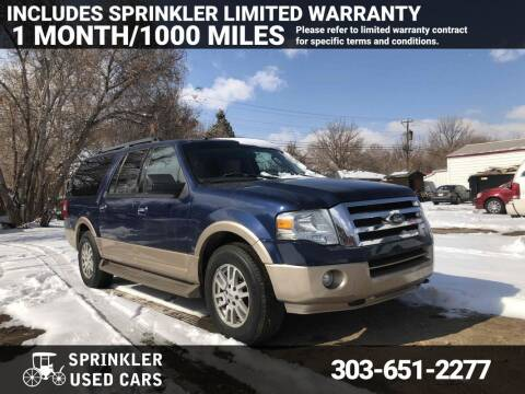 2011 Ford Expedition EL for sale at Sprinkler Used Cars in Longmont CO