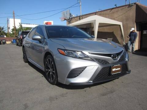 2018 Toyota Camry for sale at Win Motors Inc. in Los Angeles CA