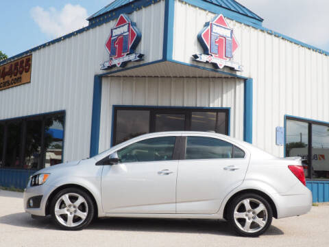 2016 Chevrolet Sonic for sale at DRIVE 1 OF KILLEEN in Killeen TX