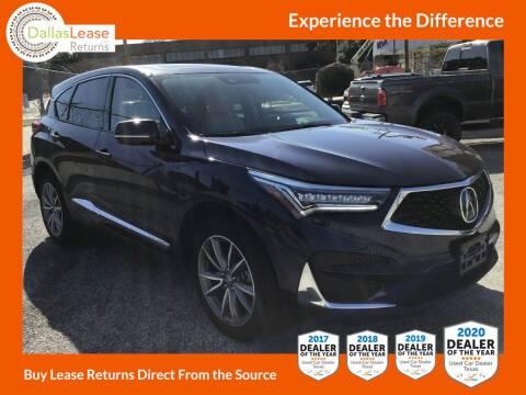 2020 Acura RDX for sale at Dallas Auto Finance in Dallas TX