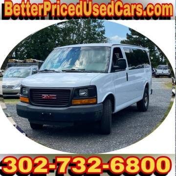 2009 GMC Savana Passenger for sale at Better Priced Used Cars in Frankford DE