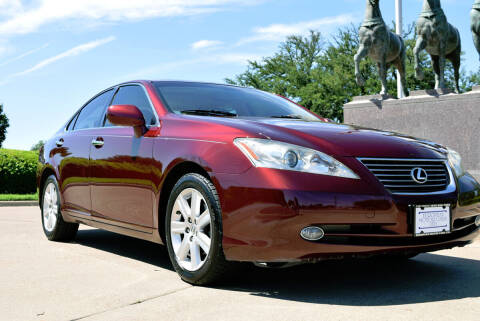 2007 Lexus ES 350 for sale at European Motor Cars LTD in Fort Worth TX