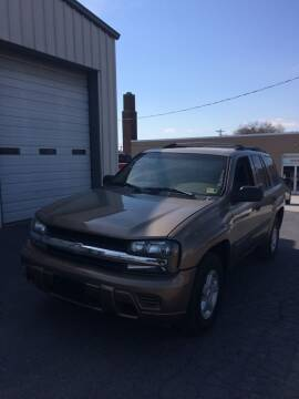 2003 Chevrolet TrailBlazer for sale at Village Auto Center INC in Harrisonburg VA