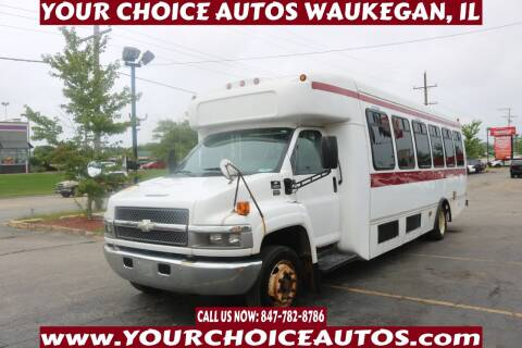 2007 Chevrolet C5500 for sale at Your Choice Autos - Waukegan in Waukegan IL