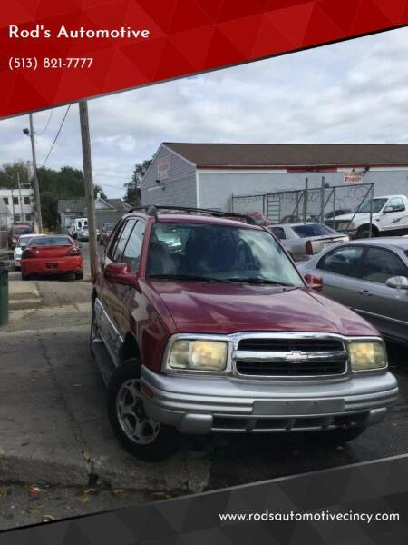 2001 Chevrolet Tracker for sale at Rod's Automotive in Cincinnati OH