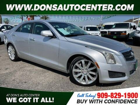 2013 Cadillac ATS for sale at Dons Auto Center in Fontana CA