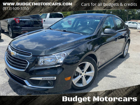 2015 Chevrolet Cruze for sale at Budget Motorcars in Tampa FL