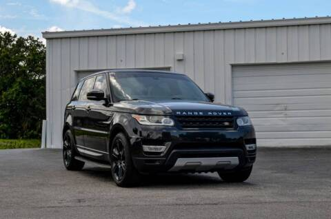 2014 Land Rover Range Rover Sport for sale at Exquisite Auto in Sarasota FL