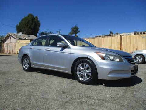 2012 Honda Accord for sale at E and M Auto Sales in Bloomington CA