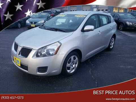 2009 Pontiac Vibe for sale at Best Price Autos in Two Rivers WI