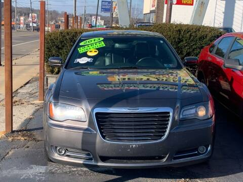 2013 Chrysler 300 for sale at JORDAN AUTO SALES in Youngstown OH