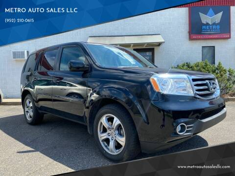 2014 Honda Pilot for sale at METRO AUTO SALES LLC in Blaine MN