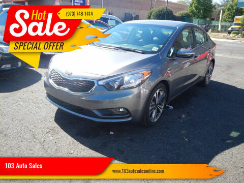 2016 Kia Forte for sale at 103 Auto Sales in Bloomfield NJ